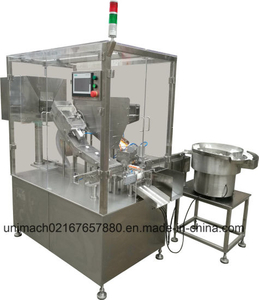 Effervescent Tablet Tube Filling Capping Machine