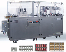Automatic Al-Plastic, Al-Al Blister Packing Machine (DPB-140B)