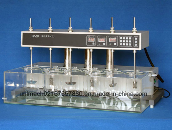 Best Seller Medicine Dissolution Tester with Six Poles