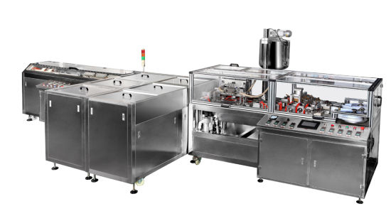 Automatic Suppository Filling Sealing Machine (Linear Line Type)