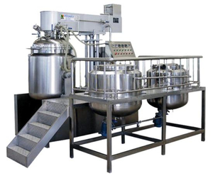 Vacuum Mixing Emulsifier for Making Cosmetic Cream Ointment