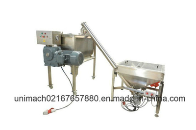 Powder Mixing Machine with Feeding