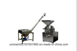 High Quality Stainless Steel Grinding Machine with Feeder