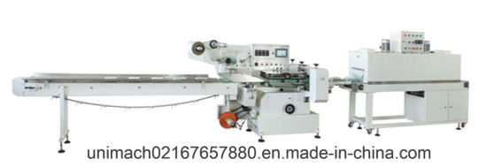 Fully-Automatic Sleeve Shrink Wrapping Machine