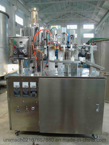 FGF-250 Semi-Automatic Plastic and Laminated Tube Filling and Sealing Machine