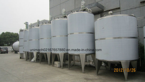 Stainless Steel Tanks for Milk, Juice, Beverage, Wine (ST)