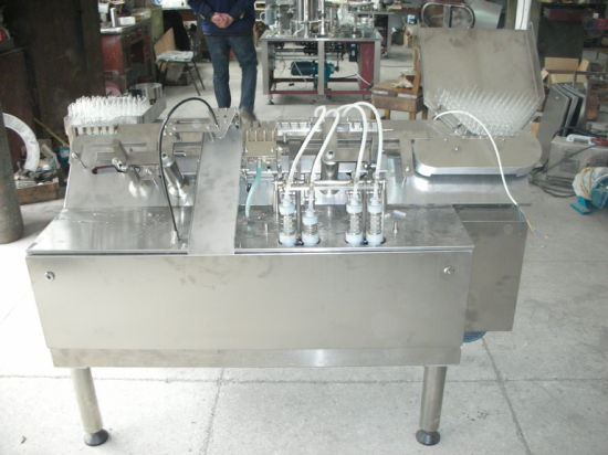 2 Heads Intelligent Ampoule Filling Sealing Machine
