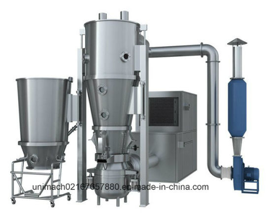 FL Series Fluid Bed Granulator (meeting GMP and FDA)