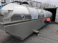 Big vibrating fluid bed dryer ship to old client in Europe